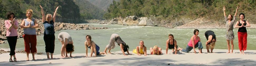 Nordindien - Yoga & Spiritualität am Ufer des Ganges - Intensiv Yoga mit Ashwani Bhanot und Klaus Wendel